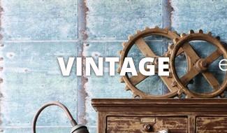 Vintage behang