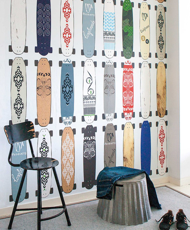 onszelf skateboard behang - Skateboard Behang