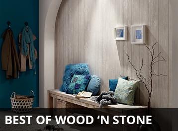 Best of Wood n Stone van AS Creation behang