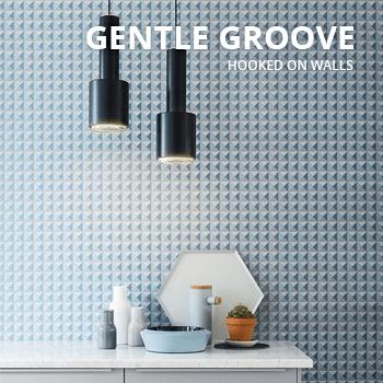 Behang Gentle Groove van Hooked on walls