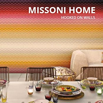 Behang Missioni Home van Hooked on walls