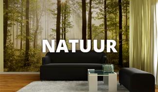 Natuur behang